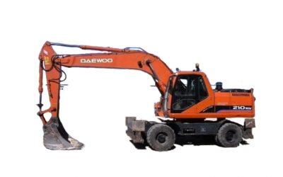 Экскаватор DAEWOO DOOSAN-210 WV (полноповоротный)
