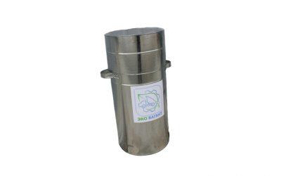 Специализированный контейнер для сбора, хранения и транспортировки отработанных ртутьсодержащих ламп, 600*450 мм.